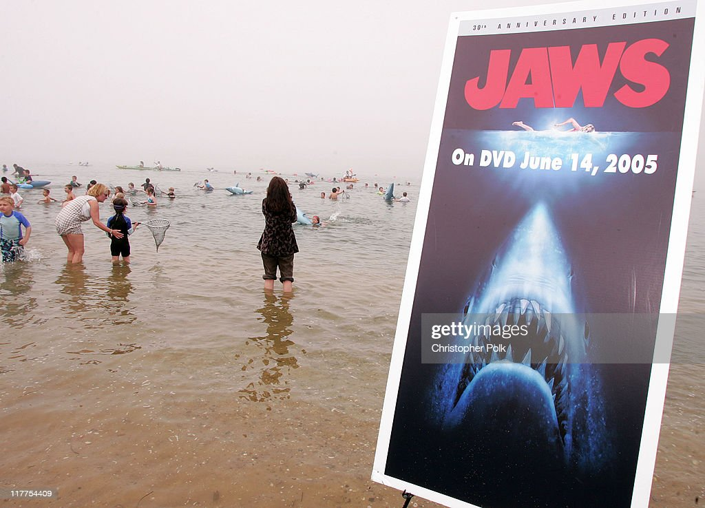 The Jaws 30th Anniversary Edition DVD from Universal Studios Home Entertainment releases June 14th. The DVD includes a special never-before-seen Steven Spielberg interview and a 2 hour documentary on the making of the film.