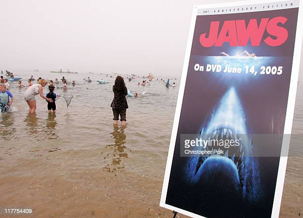 The Jaws 30th Anniversary Edition DVD from Universal Studios Home Entertainment releases June 14th The DVD includes a special neverbeforeseen Steven...