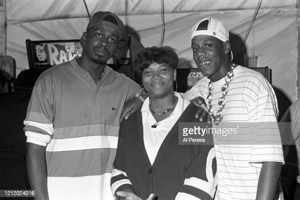 The Jaz, Queen Latifah and Jay-Z Attend Big Daddy Kane's Birthday Party on September 10, 1989 in New York City