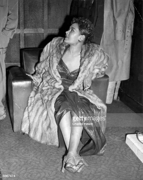 The jazz and blues singer Billie Holiday also known as Lady Day Original Publication Picture Post 7380 Billie Holiday unpub