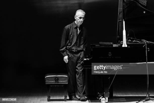 """The jazz pianist Keith Jarrett in """"Keith Jarrett: An Evening of Solo Piano Improvisations"""" at Carnegie Hall on Tuesday night, March 3, 2015."""