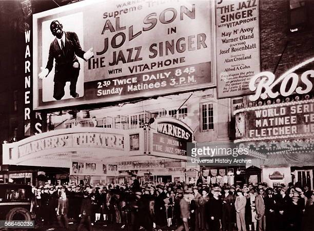 The Jazz Singer is a 1927 American musical film and the first motion picture with synchronized dialogue sequences Directed by Alan Crosland and...