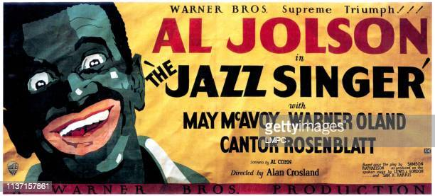 The Jazz Singer poster Al Jolson 1927