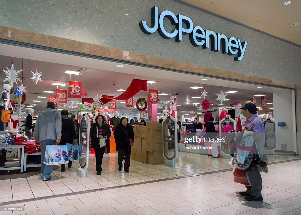 9ea29d73f8 The JCPenney store in the Queens Center Mall in the borough of ...