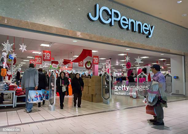 The JCPenney store in the Queens Center Mall in the borough of Queens in New York on the so-called Super Saturday, December 19 2015. JCPenney...