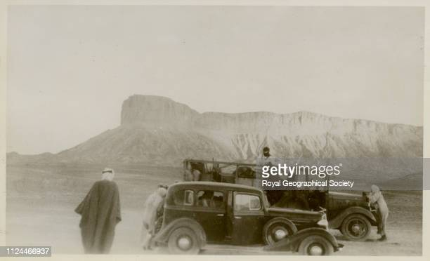The Jebel Tuwaiq Gerald de Gaury was a British military officer he was the British political agent in Kuwait during the 1930s Caption on back reads...