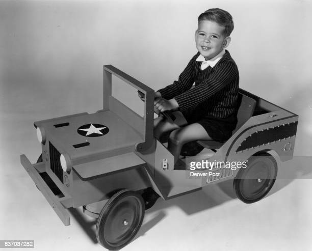 The jeep pictured here with young Mike Ellis is a rewarding project for dads and granddads It has been designed and tested for simplicity of design...