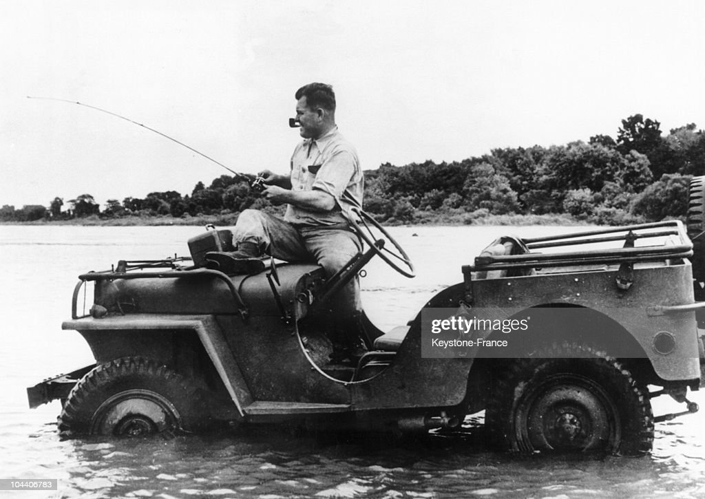 Willys Jeep In 1945 : News Photo