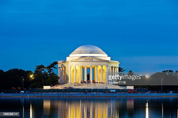 the jefferson memorial - jefferson memorial stock pictures, royalty-free photos & images