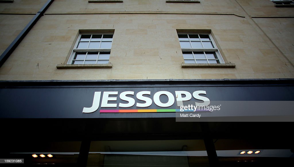 The Jessops logo is displayed outside a branch of the photographic retailer Jessops on January 10, 2013 in Bath, England.The camera retailer, which was established in the 1930s, has called in administrators, a move which puts more than 2,000 jobs at risk at its 193 stores across the UK. The announcement comes on the day that Marks & Spencer reported worse than expected Christmas clothing sales.