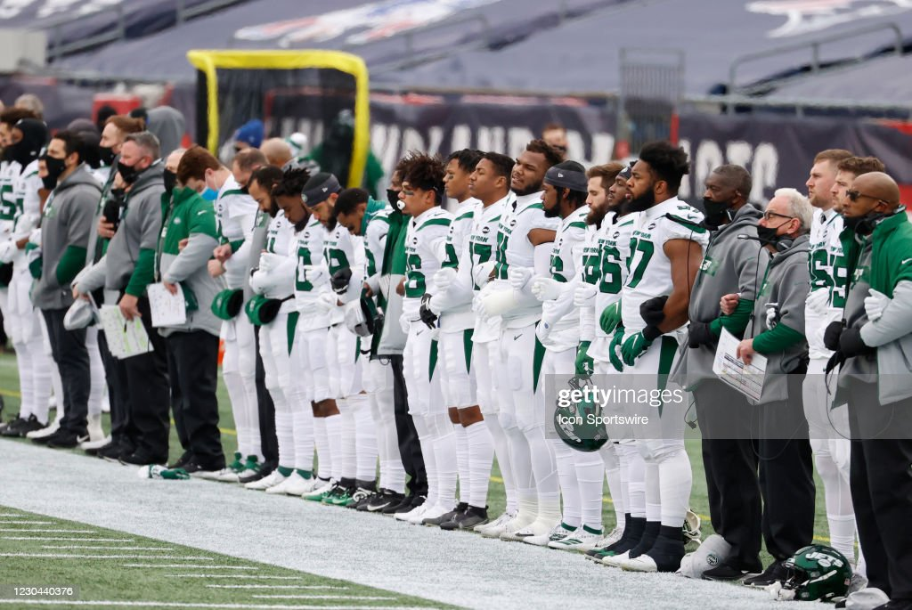 NFL: JAN 03 Jets at Patriots : News Photo