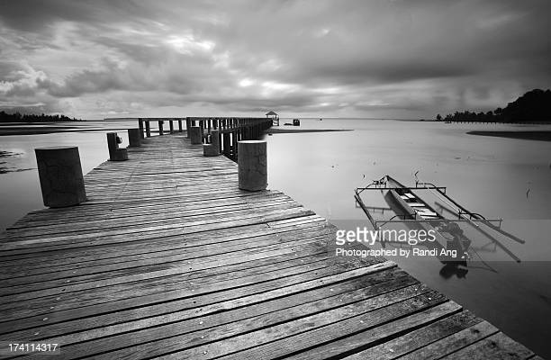 The Jetty in BW