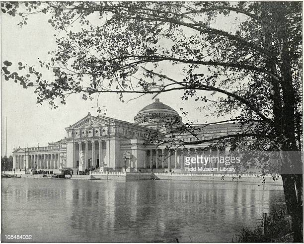 The Jewel of the Exposition Palace of Fine Arts building From ''Columbian Gallery A Portfolio of Photographs of the World's Fair'' The Werner Company...