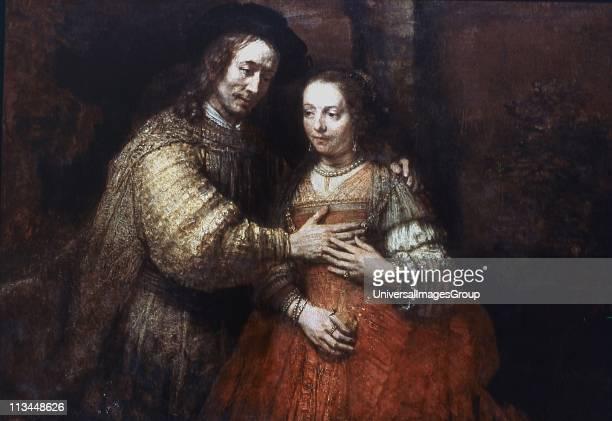The Jewish Bride' Rembrandt van Rijn Dutch artist