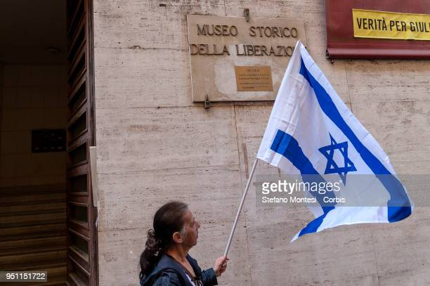 The Jewish Community of Rome in front The Museum of the Liberation of Rome in Via Tasso for a public moment of recollection to commemorate the Jewish...