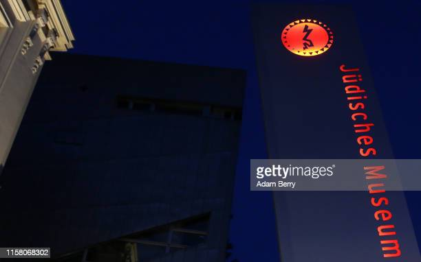 The Jewish Museum Berlin is seen on June 24, 2019 in Berlin, Germany. The museum's director, Peter Schäfer, resigned following criticism from the...