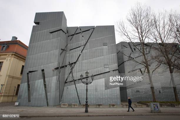 The Jewish museum of Berlin is seen on 13 February 2017