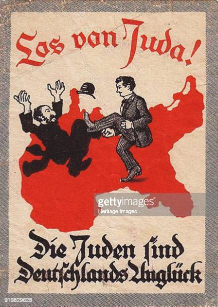 The Jews are Our Misfortune 1920s Found in the collection of Deutsches Historisches Museum