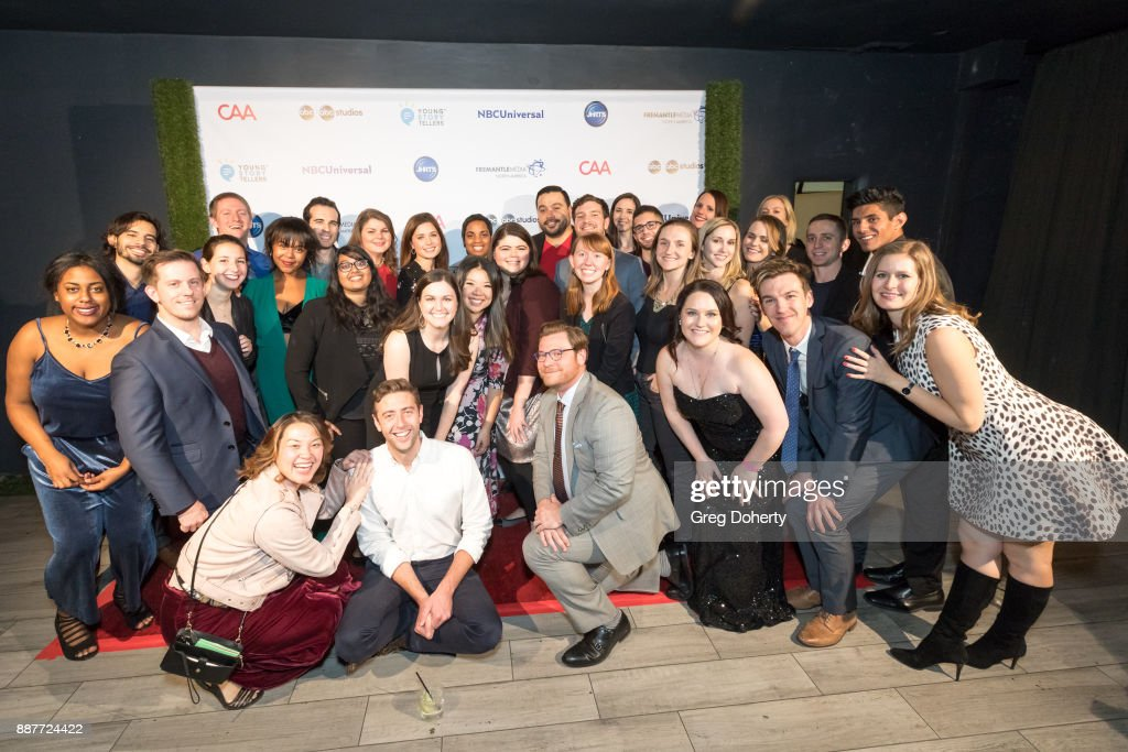 The JHRTS Members attend The Junior Hollywood Radio & Television Society's 15th Annual Holiday Party at Le Jardin on December 6, 2017 in Hollywood, California.