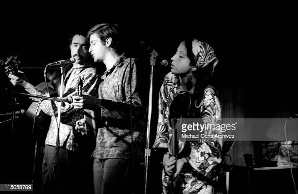 The Jim Kweskin Jug Band perform in a Greenwich Village nightclub circa 1967 in New York City New York