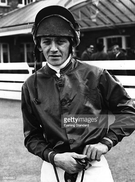 The jockey Sandy Barclay