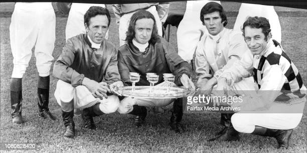 The Jockey who rode in the Fort Penison Invitation States October 24 1973