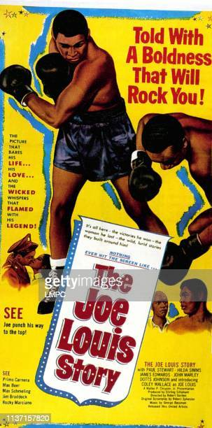 The Joe Louis Story poster Coley Wallace 1953