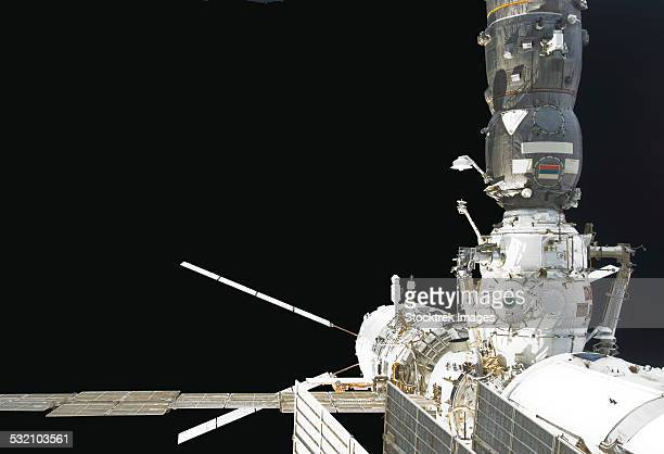 The Johannes Kepler Automated Transfer Vehicle docks to the International Space Station.