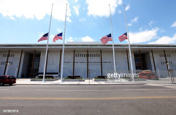 The John F Kennedy Center for the Performing Arts in Washington DC on APRIL 20