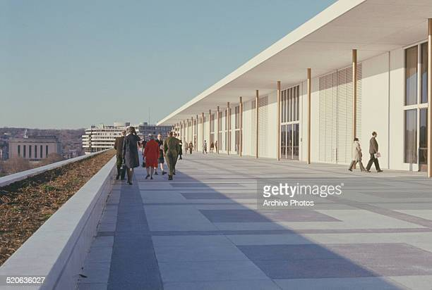 The John F Kennedy Center for the Performing Arts in Washington DC USA 1972