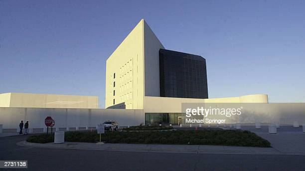The John F Kennedy Library and Museum designed by architect IM Pei is seen on November 14 2003 in Boston Massachusetts The library is featuring a new...