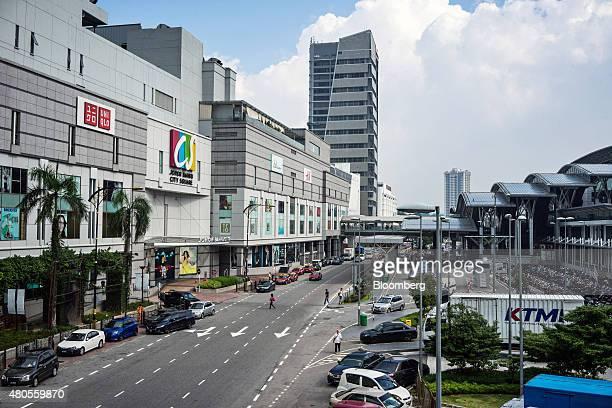 The Johor Bahru City Square shopping mall operated by Johdaya Karya Sdn Bhd left stands opposite the Johor Bahru Sentral station in Johor Bahru Johor...