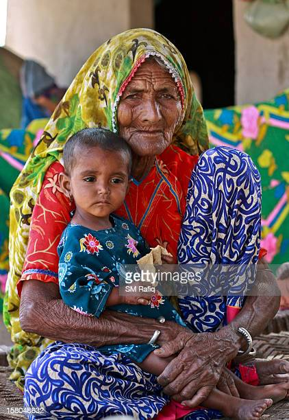 The joint family system still exist in the Asian countries and this is an endorsement to this practice where a grandmother of a village of Badin...