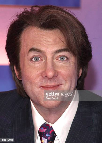 The Jonathan Ross wax figure is unveiled at Madame Tussauds on April 6 2009 in London England