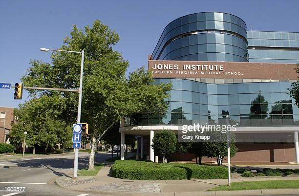 The Jones Institute for Reproductive Medicine is seen August 3 2001 in Norfolk VA