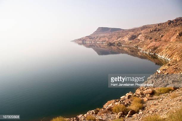 the jordan shores of the dead sea - dead sea stock pictures, royalty-free photos & images