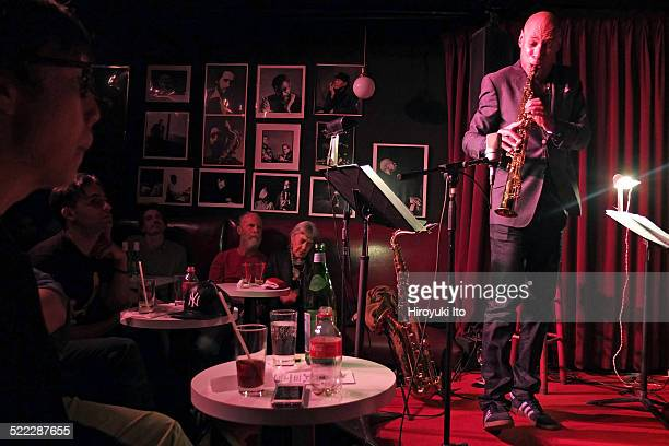 The Joshua Redman Trio performing at the Village Vanguard on Tuesday night October 28 2014This imageJoshua Redman