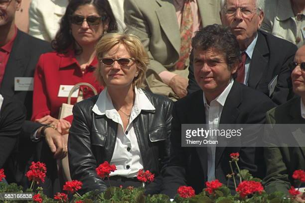 The journalists Claude Serillon and Catherine Ceylac