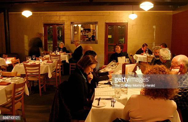 The Journeyman restaurant on the Old Hume Highway Berrima in the Southern Highlands 16 June 2005 SMH SPECTRUM Picture by DOMINO POSTIGLIONE