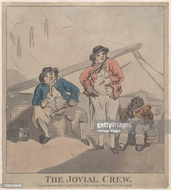 The Jovial Crew October 1 1786 Artist Imitator of Thomas Rowlandson
