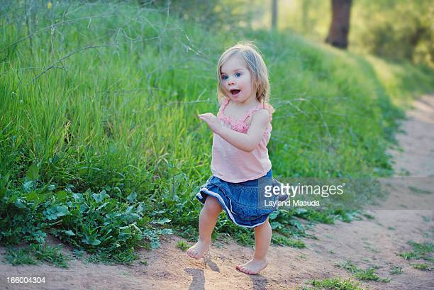 The Joy Of Running - With Toddler Girl