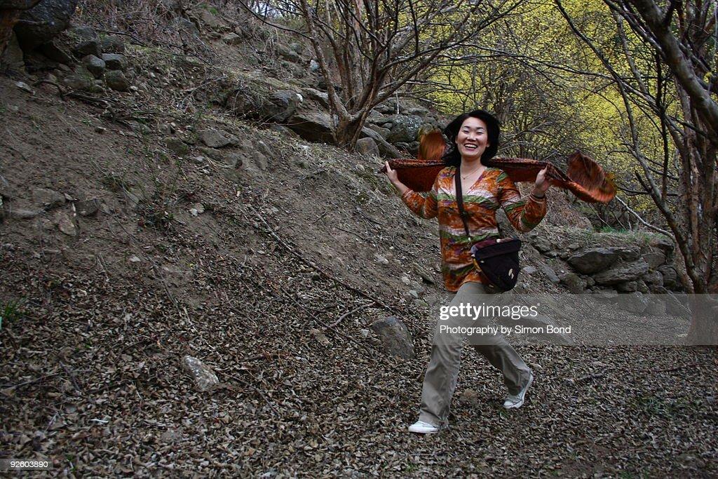 The joy of spring : Stock Photo