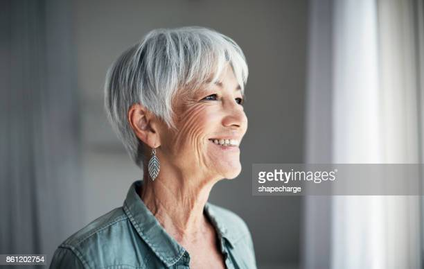 the joys of retirement - pretty older women stock pictures, royalty-free photos & images