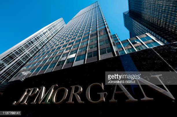 The JPMorgan Chase Co World headquarters are pictured on April 17 2019 in New York City