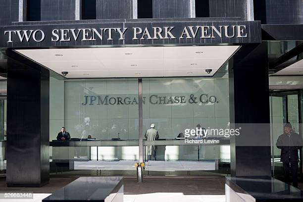 The JPMorgan Chase headquarters on Park Avenue in New York on Thursday, February 10, 2011. JPMorgan Chase & Co. Reported fourth-quarter profits...