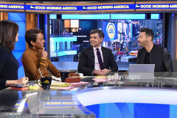 The judges of 'American Idol' are guests on 'Good Morning America' Wednesday Feb 27 airing on the ABC Television Network GMA19 CECILIA