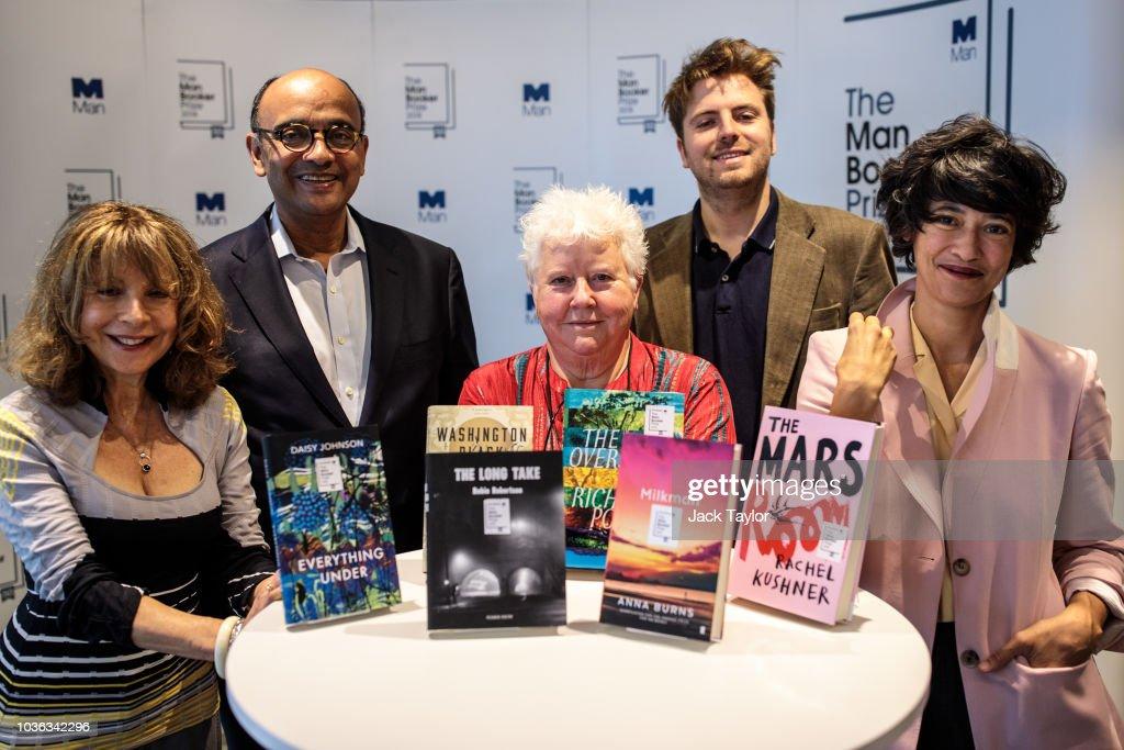 Man Booker Prize 2018 Shortlist Announced