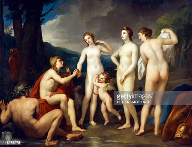 The Judgment of Paris 17571759 by Anton Raphael Mengs oil on canvas 226x295 cm San Pietroburgo Gosudarstvennyj Muzej Ermitaj