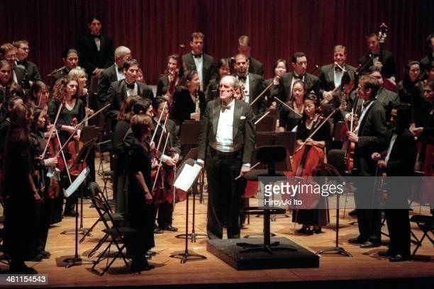 The Juilliard Orchestra performing the music of Gluck Brahms and Beethoven at Alice Tully Hall on Monday night December 11 2000This imageOttoWerner...