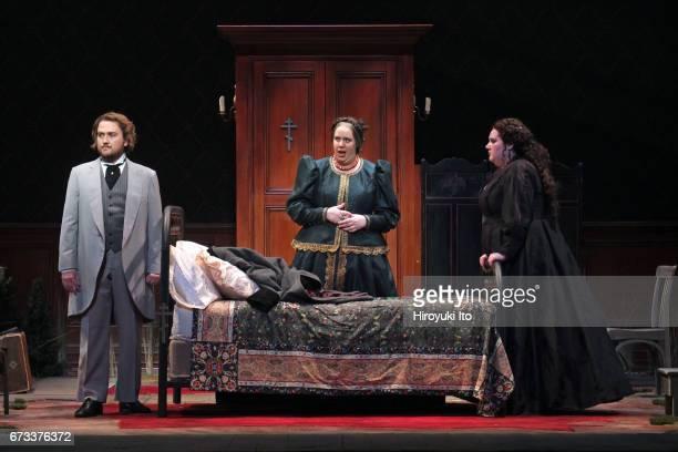 "The Juilliard School presents Janacek's ""Katya Kabanova"" at Peter Jay Sharp Theater on Wednesday night, April 19, 2017. It's directed by Stephen..."